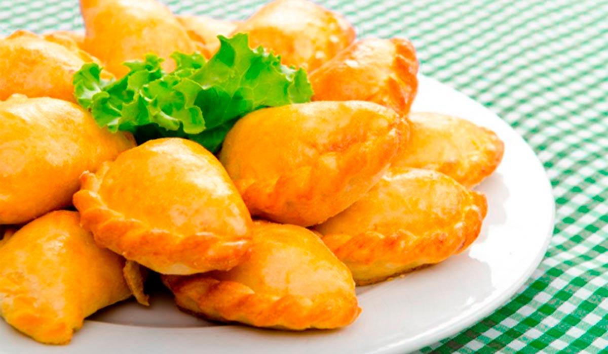 Empanadillas de lentejas pardinas